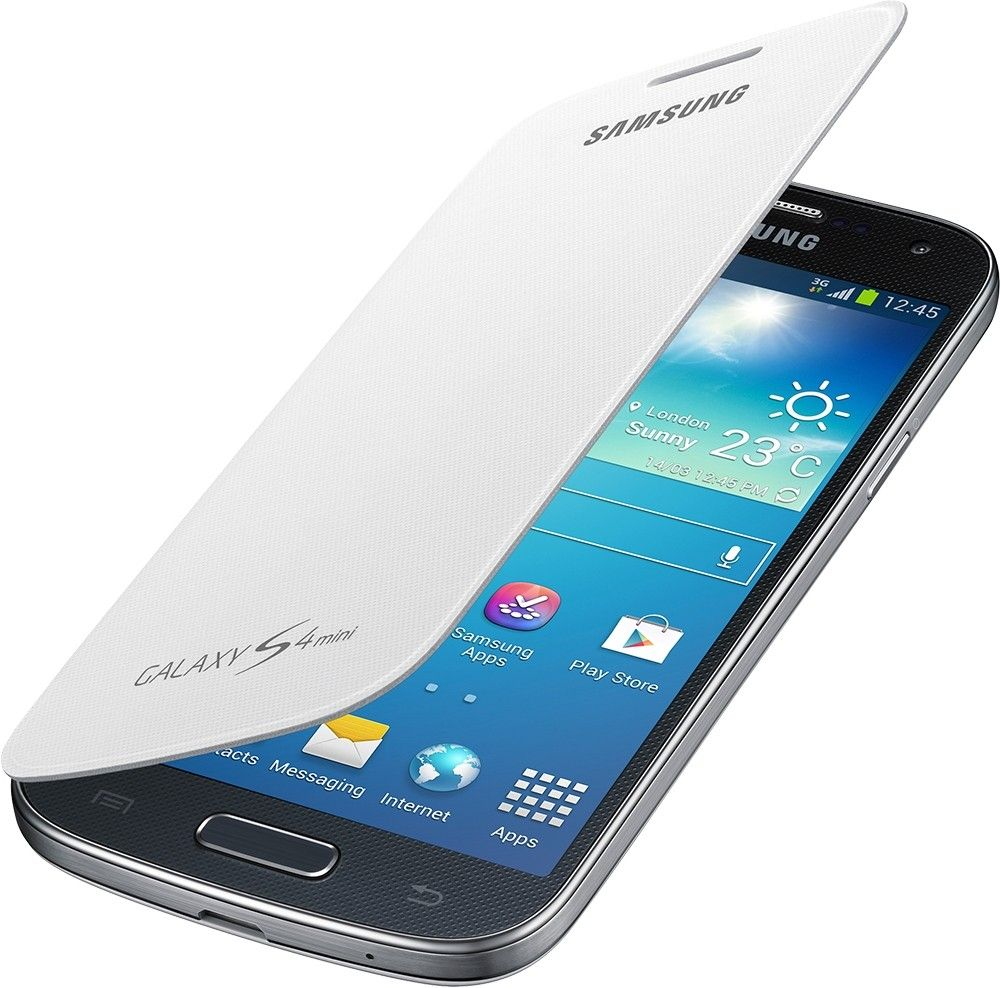 Чехол-книга Samsung для Galaxy S4 Mini White (EF-FI919BWEGWW) - 2