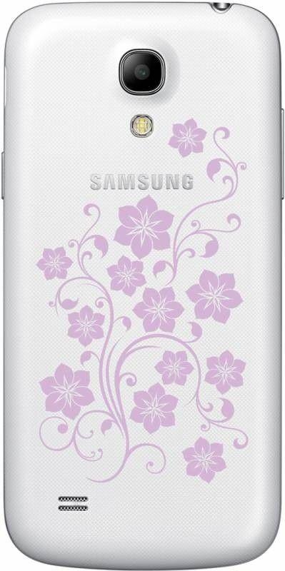 Мобильный телефон Samsung I9192 Galaxy S4 Mini Duos White La Fleur - 1