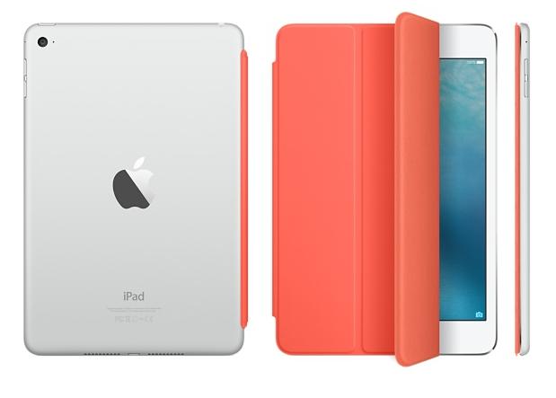 Чехол-книжка Apple Smart Cover для iPad mini 4 (MKM22ZM/A) Orange - 4