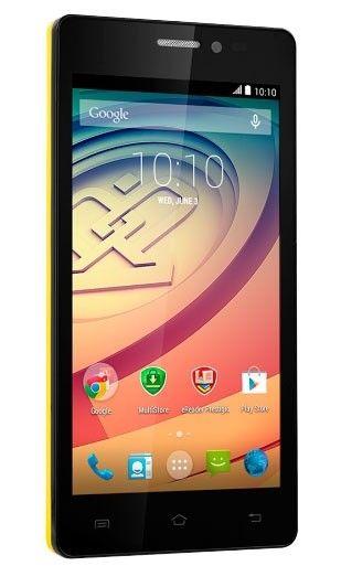 Мобильный телефон Prestigio Wize E3 3509 Dual Yellow - 2