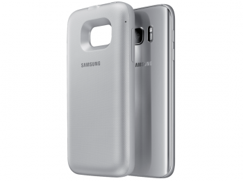 Чехол-аккумулятор Samsung Backpack Cover S7 Edge Silver (EP-TG935BSRGRU) - 2
