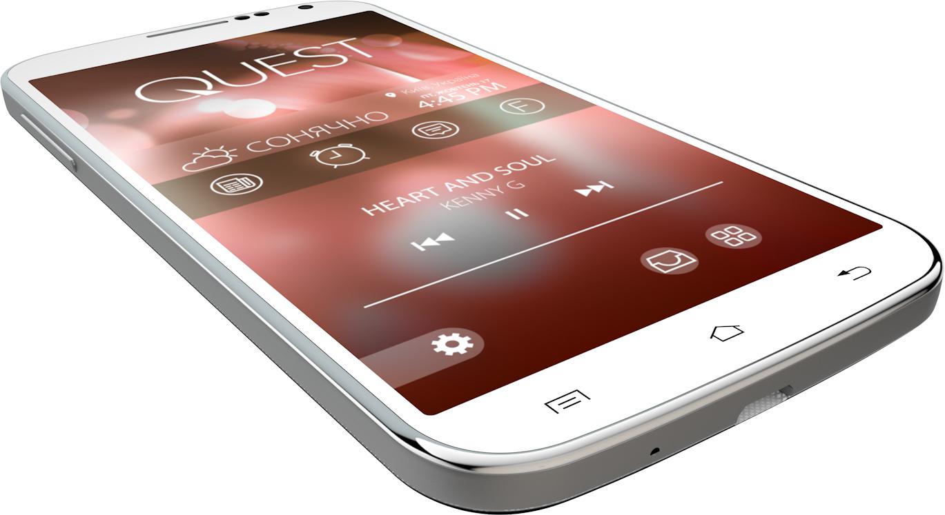 Мобильный телефон Qumo Quest 503 White - 2