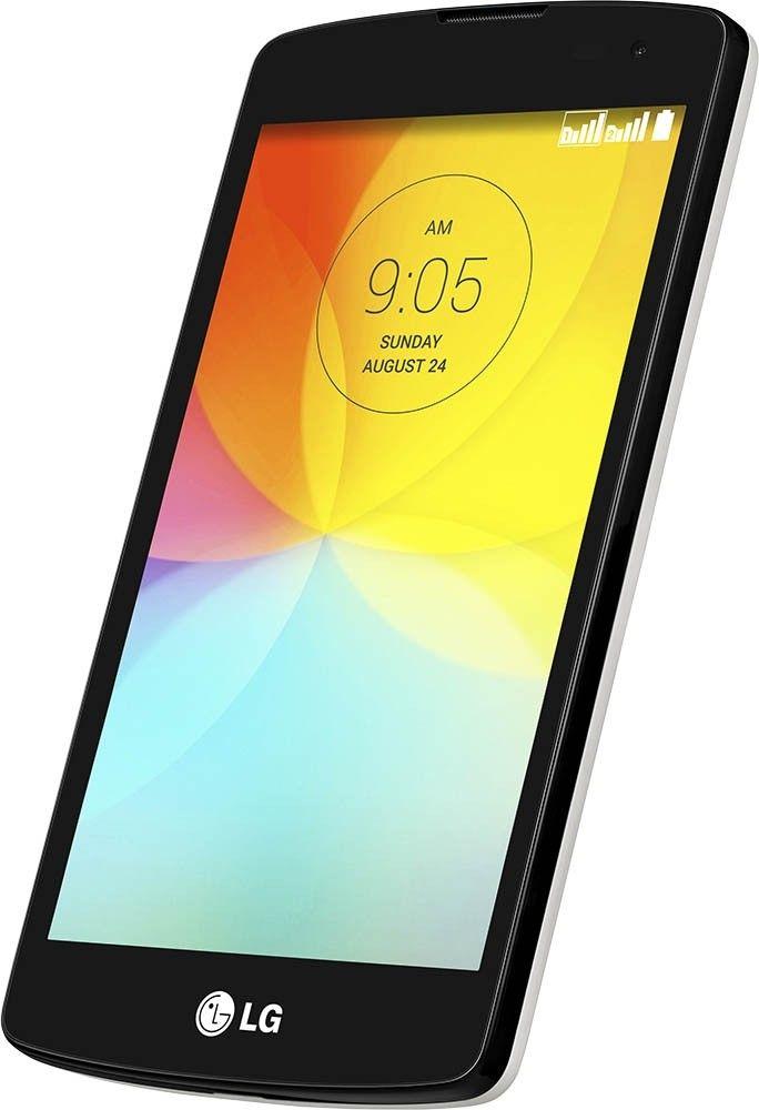Мобильный телефон LG L Fino D295 Dual Sim White - 6