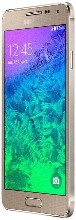 Мобильный телефон Samsung Galaxy Alpha G850F Frosted Gold - 7