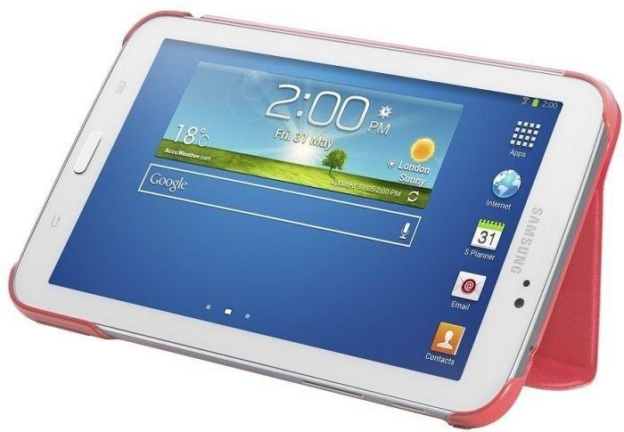 Обложка Samsung для Galaxy Tab 3.0 7.0 Berry Pink (EF-BT210BPEGWW) - 4