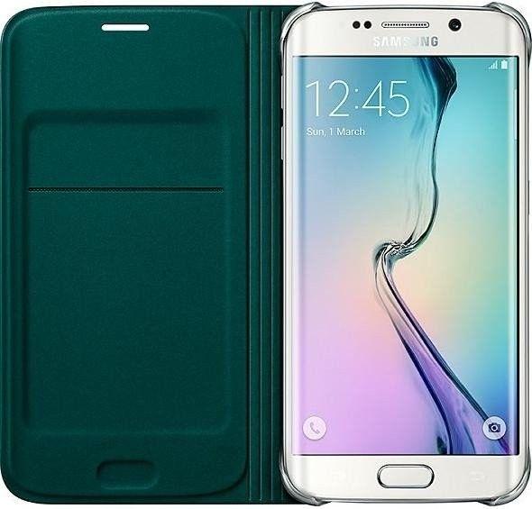 Чехол Samsung Zero Edge для Samsung Galaxy S6 Edge Green (EF-WG925BGEGRU) - 2