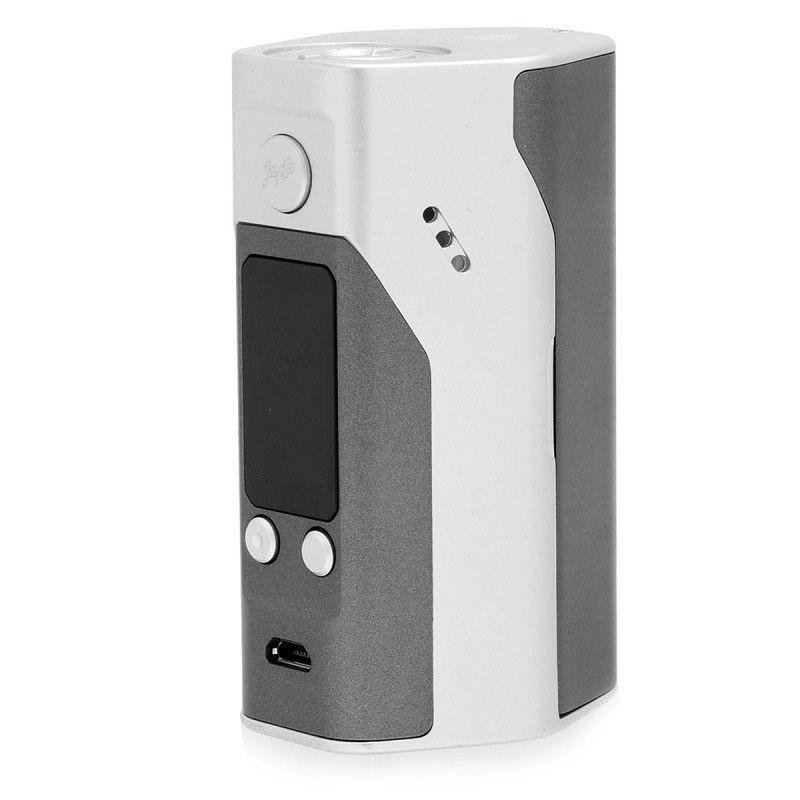 Батарейный мод Wismec Reuleaux RX200S Grey/Silver (WISRXX200S) - 3