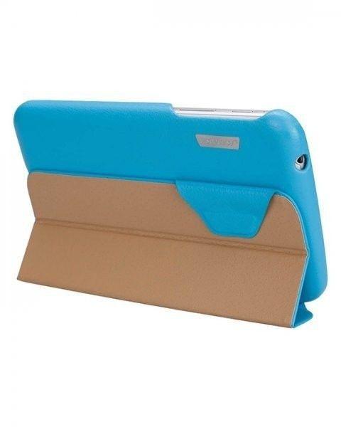 Чехол-книжка Jison Premium Leatherette Smart Case (JS-S21-03H40) Blue for Galaxy Tab 3 7.0 (P3200) - 4