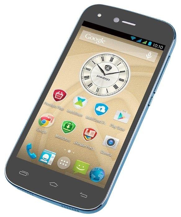 Мобильный телефон Prestigio Grace X3 3455 DUO Blue - 4