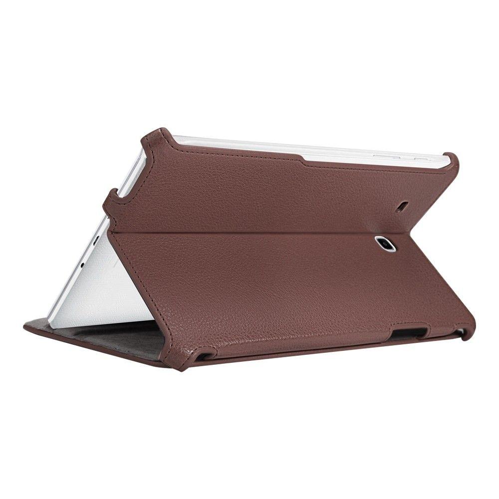 Обложка AIRON Premium для Samsung Galaxy Tab E 9.6 Brown - 3