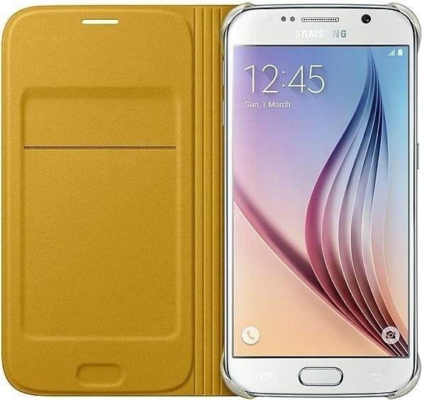 Чехол Samsung Zero для Samsung Galaxy S6 Yellow (EF-WG920PYEGRU) - 1