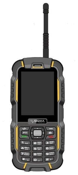 Мобильный телефон Sigma mobile X-treme DZ67 Travel Orange Black - 8