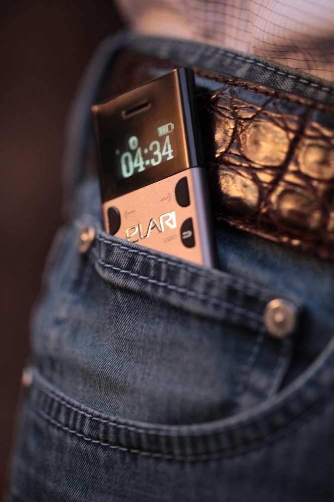 Мобильный телефон ELARI NanoPhone Gold (LR-NP-GLD) - 1