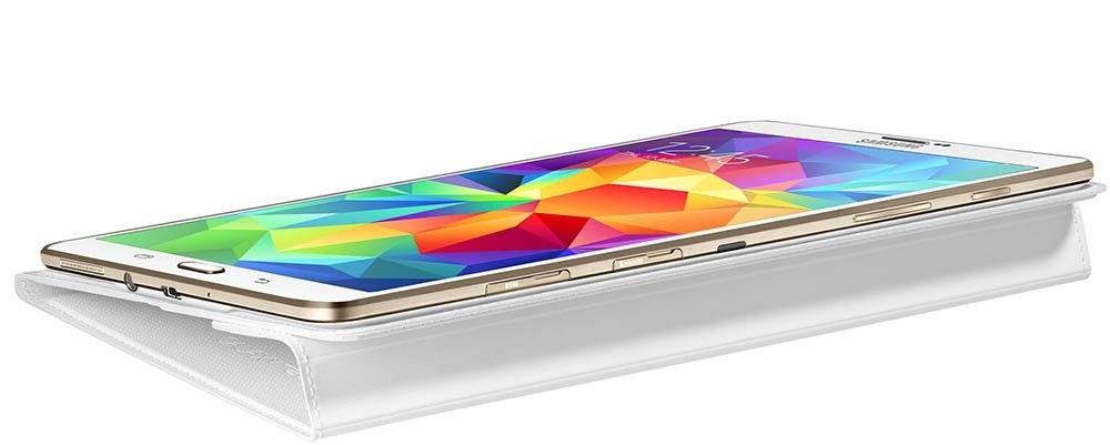 """Чехол Samsung для Galaxy Tab S 8.4"""" EF-BT700WWEGRU Dazzling White - 7"""