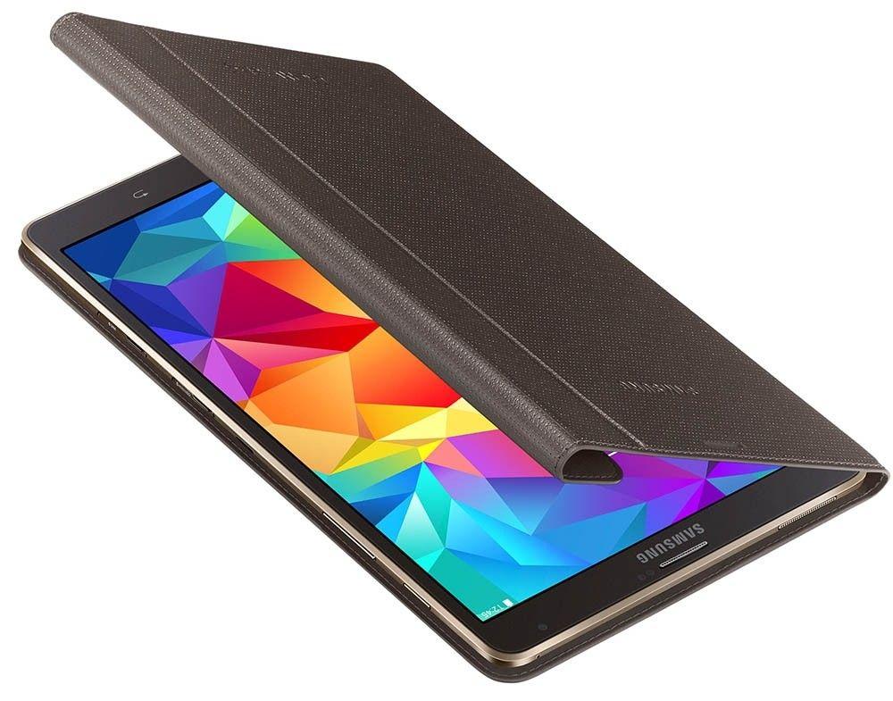 """Чехол Samsung для Galaxy Tab S 8.4"""" EF-BT700WSEGRU Electric Brown - 3"""