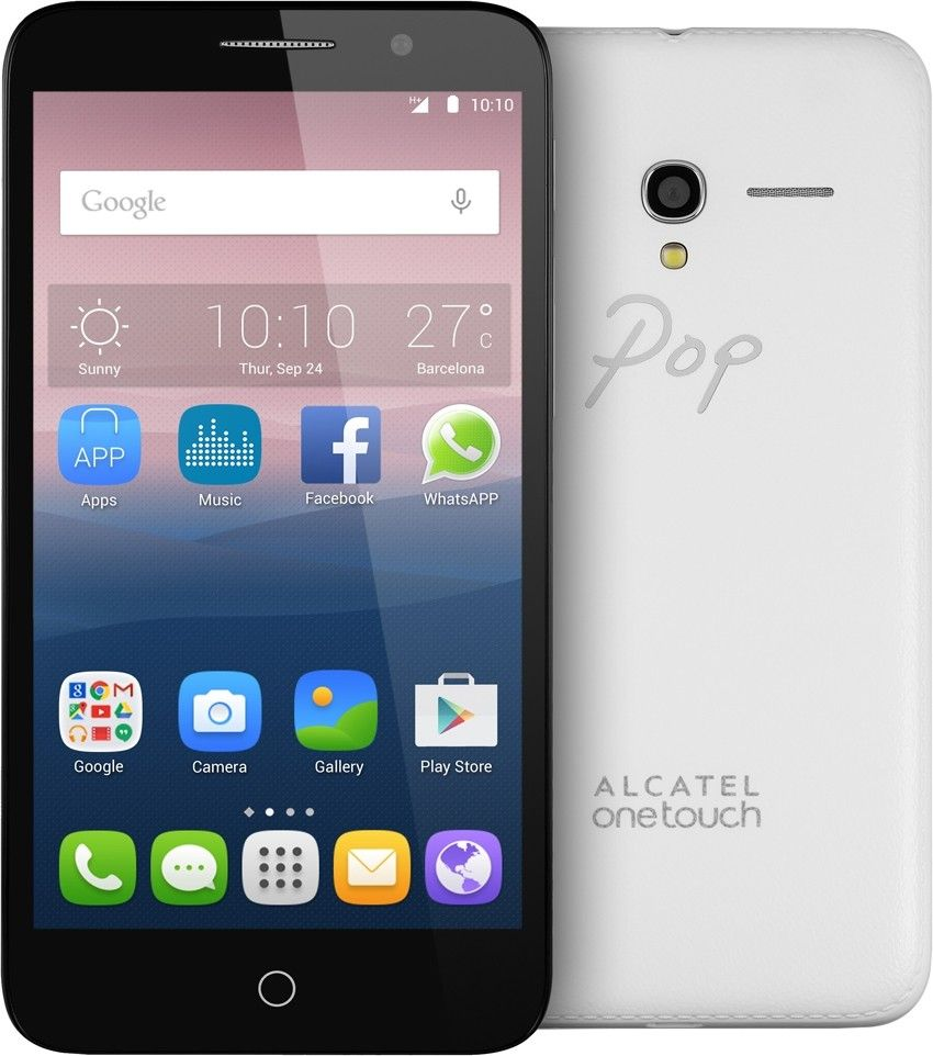 Мобильный телефон Alcatel One Touch Pop 3 5015D Dual SIM Silver - 3