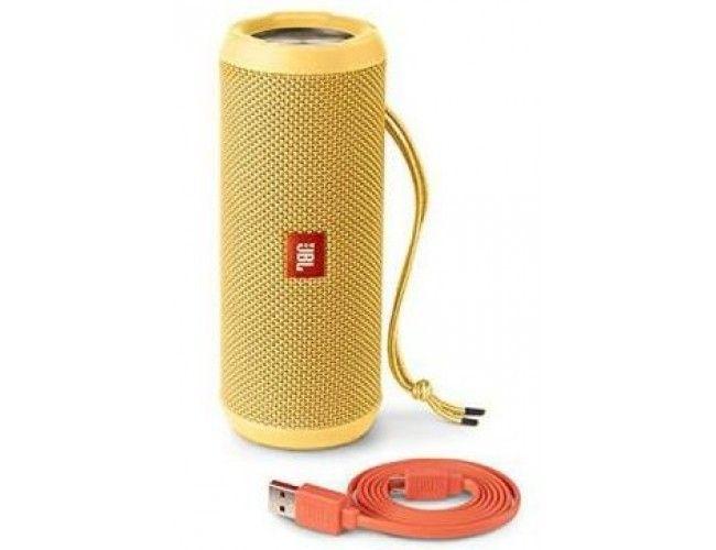Портативная акустика JBL Flip 3 Yellow (JBLFLIP3YEL) - 1