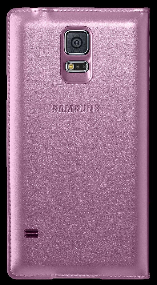 Чехол Samsung S View для Samsung Galaxy S5 Pink (EF-CG900BPEGRU) - 1