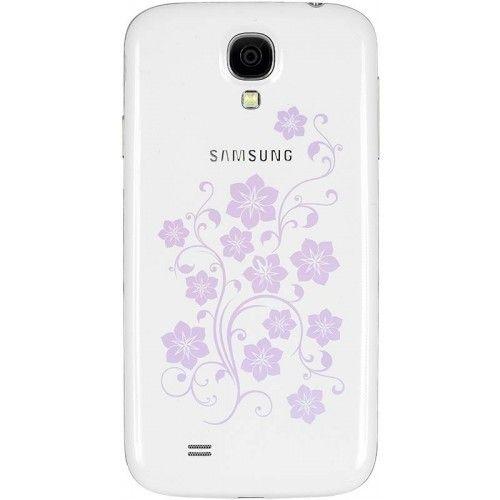 Мобильный телефон  Samsung I9500 Galaxy S4 White La Fleur - 1