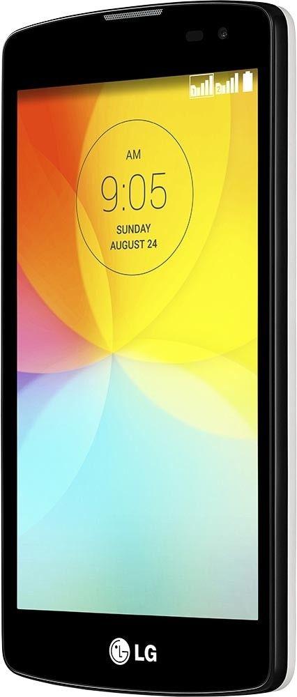 Мобильный телефон LG L Fino D295 Dual Sim White - 3