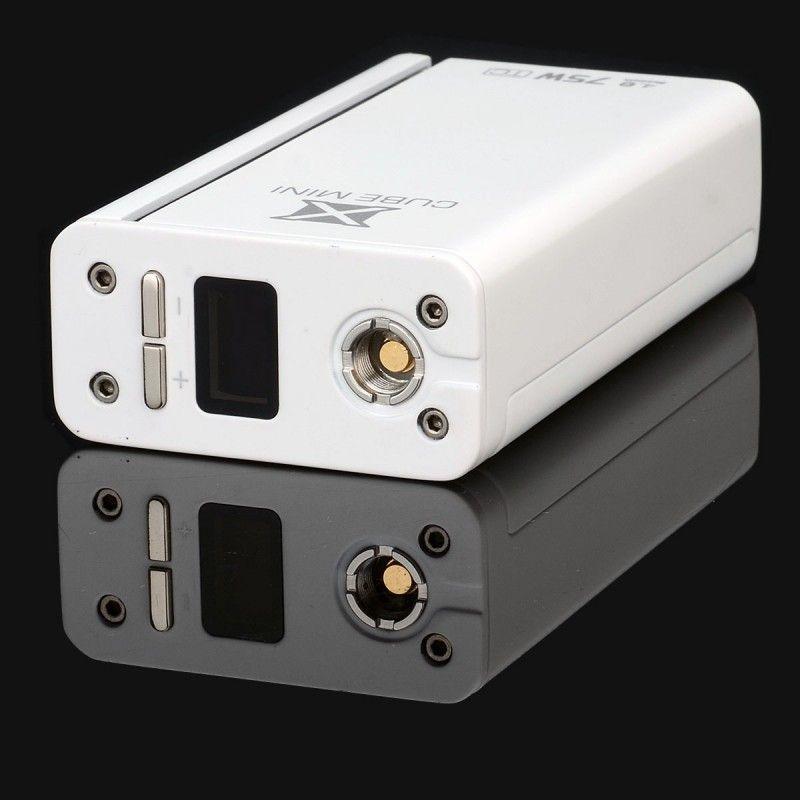 Батарейный мод Smok X Cube Mini 75W TC Kit White (SXCM75WTCKWT) - 3
