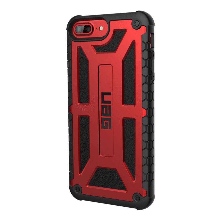 Чехол UAG iPhone 8/7/6S Monarch Crimson от Територія твоєї техніки - 2