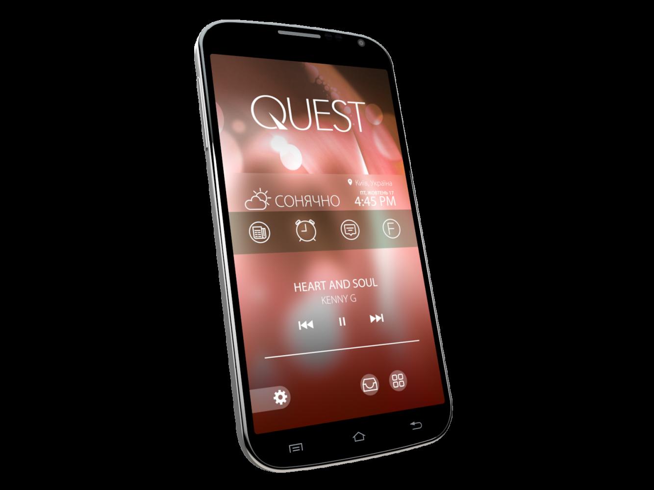 Мобильный телефон Qumo Quest 503 Black - 2