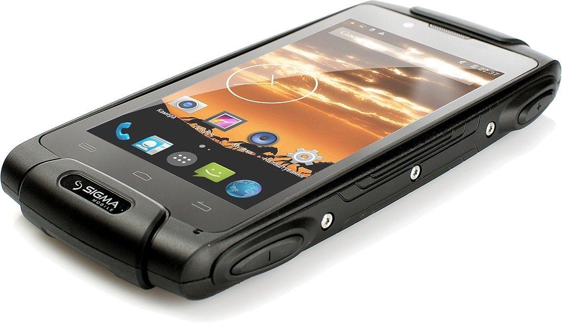 Мобильный телефон Sigma mobile X-treme PQ25 Black - 3