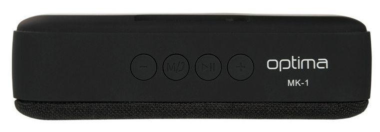 Колонка Bluetooth Speaker Optima MK-1 Infinity Black от Територія твоєї техніки - 3