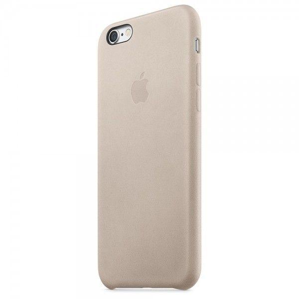 Чехол для Apple iPhone 6s Leather Case Rose Gray (MKXV2ZM/A) - 1