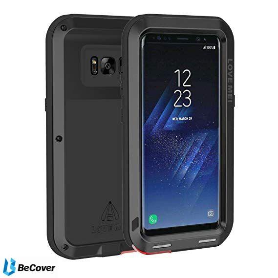 Панель Love Mei Powerful для Samsung Galaxy S8+ SM-G955 (BC_703130) Black от Територія твоєї техніки - 5