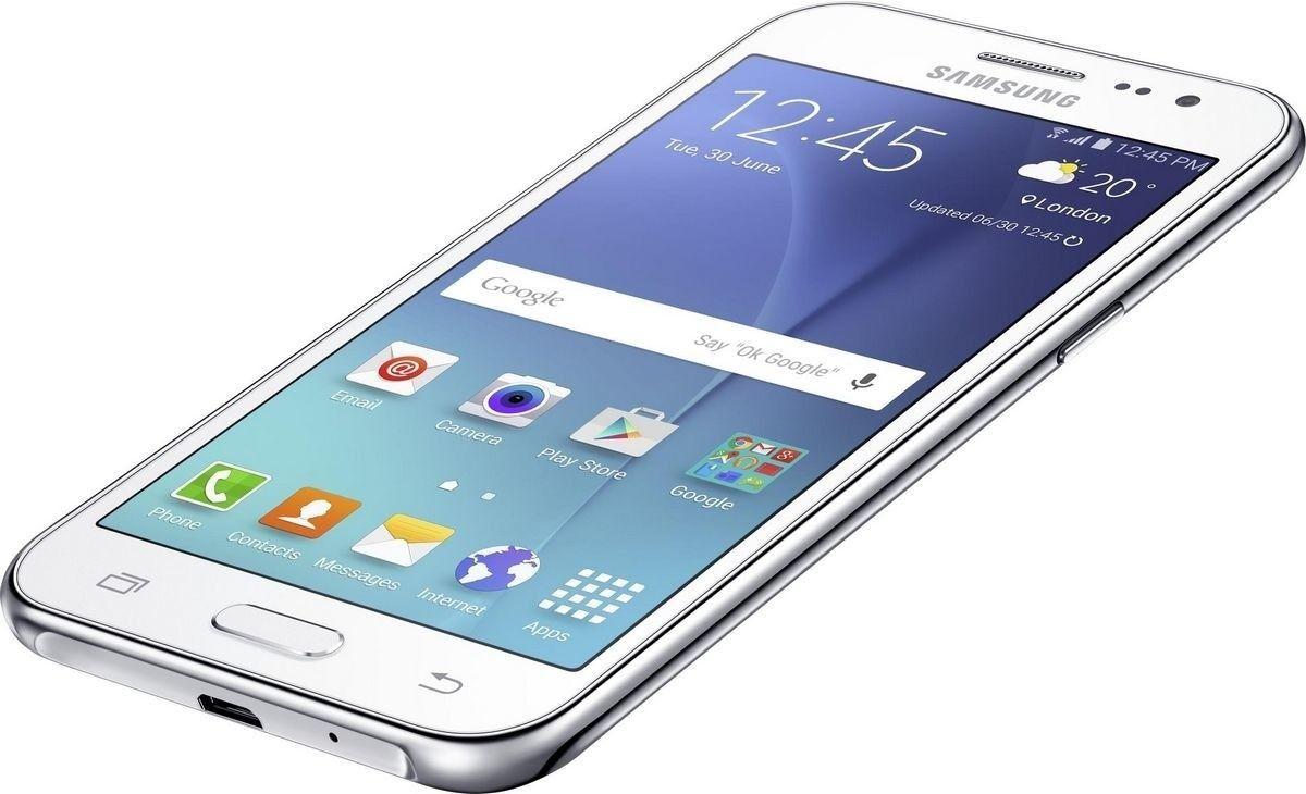 Мобильный телефон Samsung Galaxy J2 Duos J200H White - 1