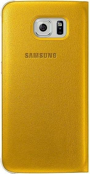 Чехол Samsung Zero для Samsung Galaxy S6 Yellow (EF-WG920PYEGRU) - 2