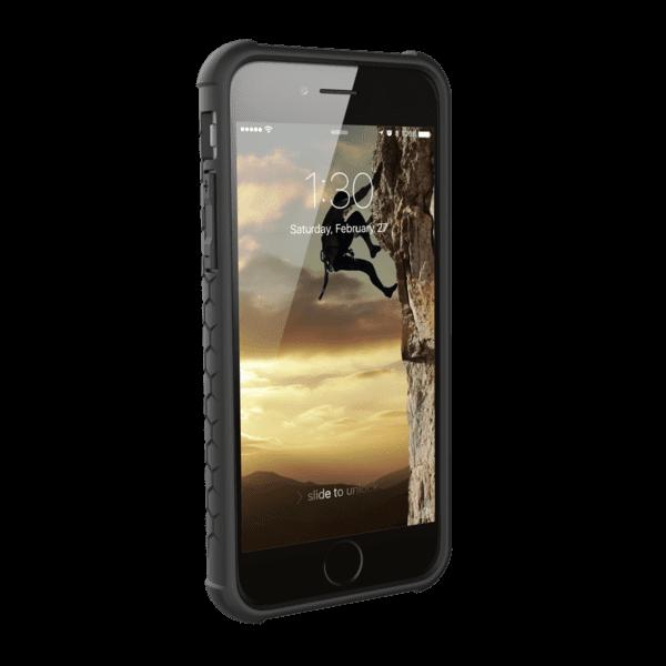 Чехол UAG iPhone 8/7/6S Monarch Graphite Black от Територія твоєї техніки - 6
