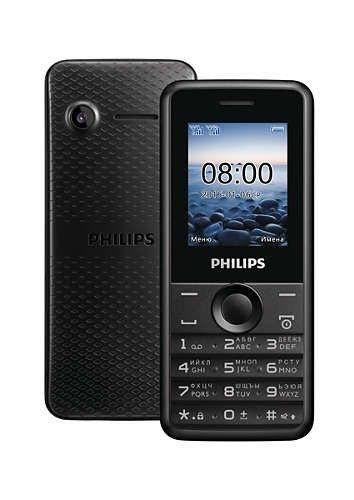 Мобильный телефон Philips Xenium E103 Black - 4