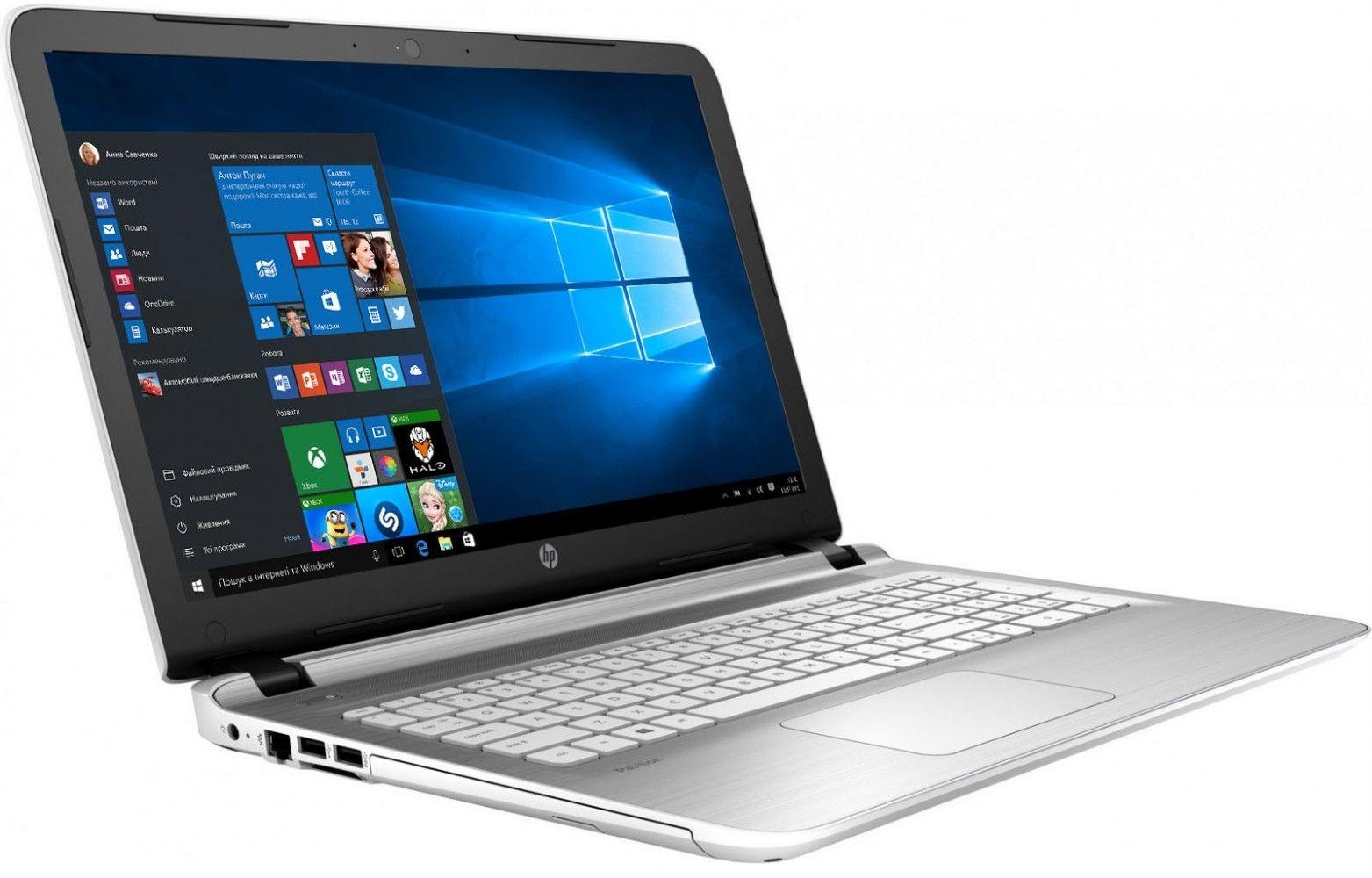 Ноутбук HP Pavilion 15-ab130ur (V0Z03EA) White - 2