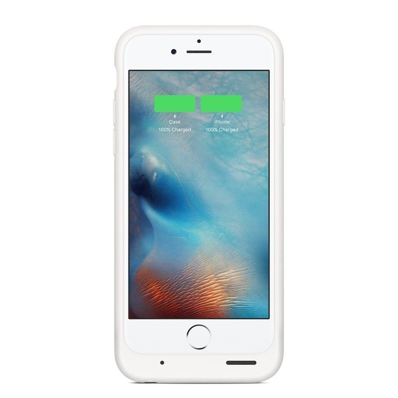 Чехол-аккумулятор Apple Smart Battery Case White (MGQM2) для iPhone 6s - 3