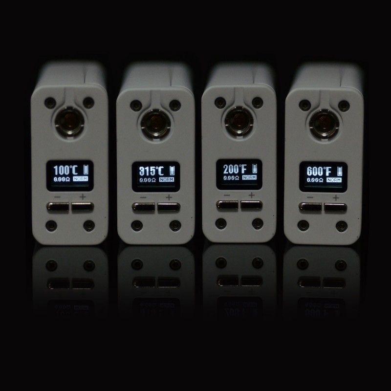 Батарейный мод Smok X Cube Mini 75W TC Kit White (SXCM75WTCKWT) - 4