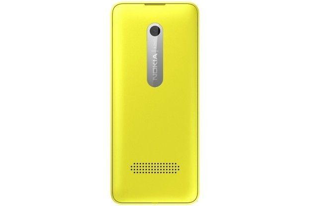 Мобильный телефон Nokia 301 Dual Sim Yellow - 2