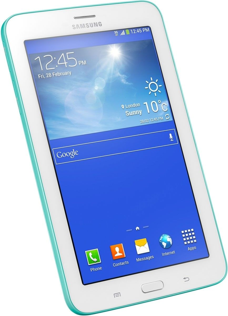 Планшет Samsung Galaxy Tab 3 Lite 7.0 8GB Blue Green (SM-T110NBGASEK)  - 1