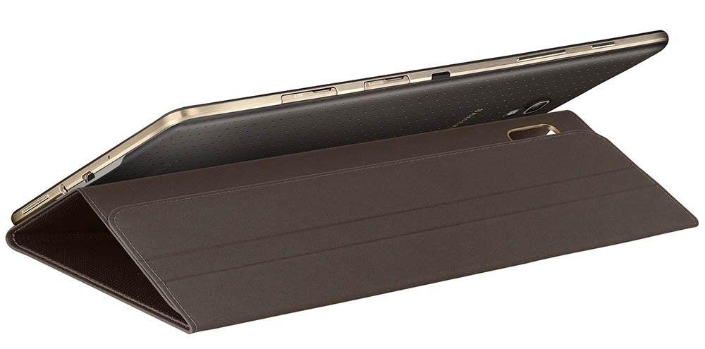 """Чехол Samsung для Galaxy Tab S 8.4"""" EF-BT700WSEGRU Electric Brown - 5"""