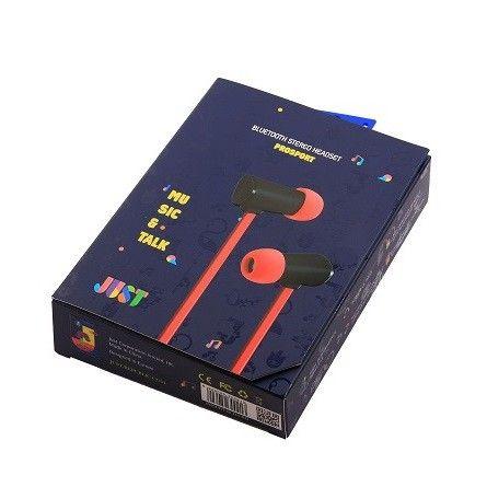 Наушники JUST ProSport Bluetooth Headset Red (PRSPRT-BLTH-RD) - 1
