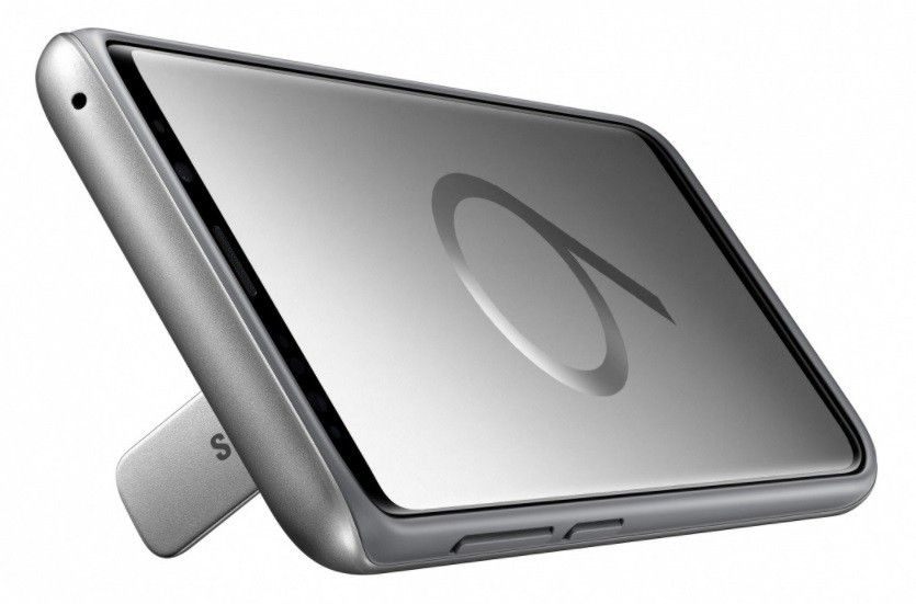Накладка Samsung Protective Stadning Cover S9 Plus Silver (EF-RG965CSEGRU) от Територія твоєї техніки - 2