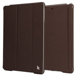 Чехол-книжка для iPad Jison Case Executive Smart Cover for iPad Air/Air 2 Brown (JS-ID5-01H20) - 4