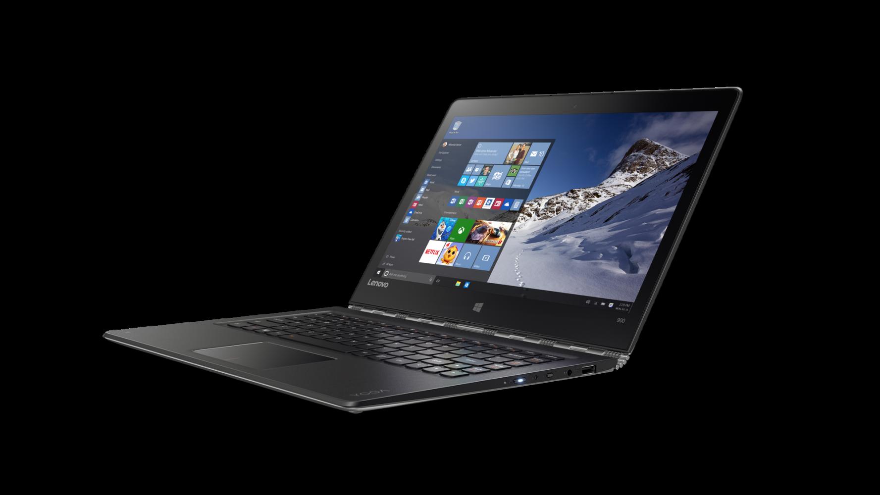 Ноутбук Lenovo Yoga 900-13 (80MK00M8UA) Silver - 3
