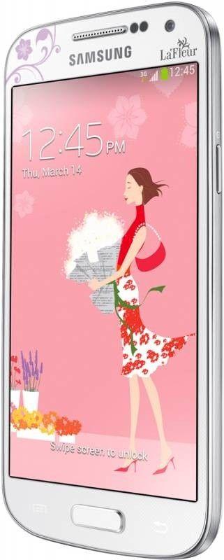 Мобильный телефон Samsung I9192 Galaxy S4 Mini Duos White La Fleur - 2