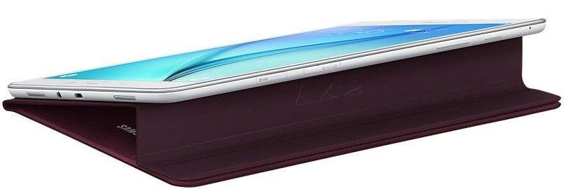 "Чехол-книжка Samsung Tab A 9.7"" EF-BT550BQEGRU Wine - 2"