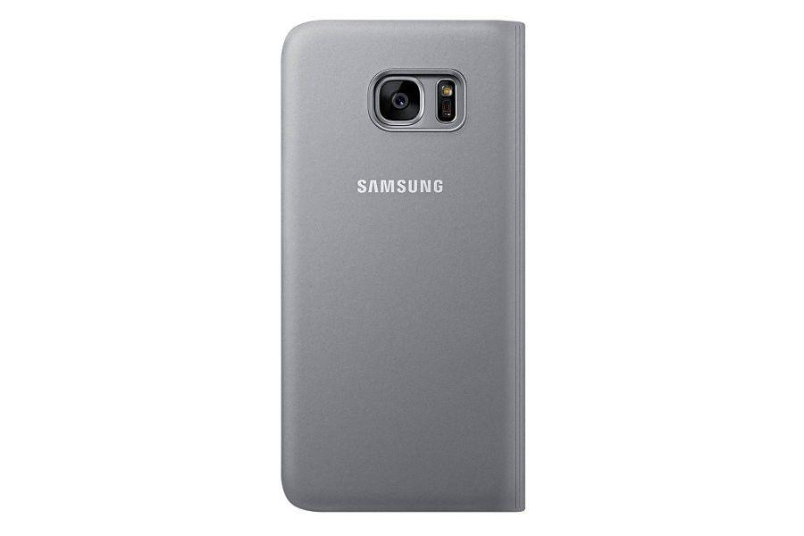 Чехол Samsung S View для Galaxy S7 Silver (EF-CG930PSEGRU) - 3