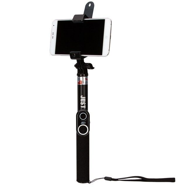 Монопод для селфи JUST Selfie Stick PRO (no box) (SLF-STKPR-BLK) - 1