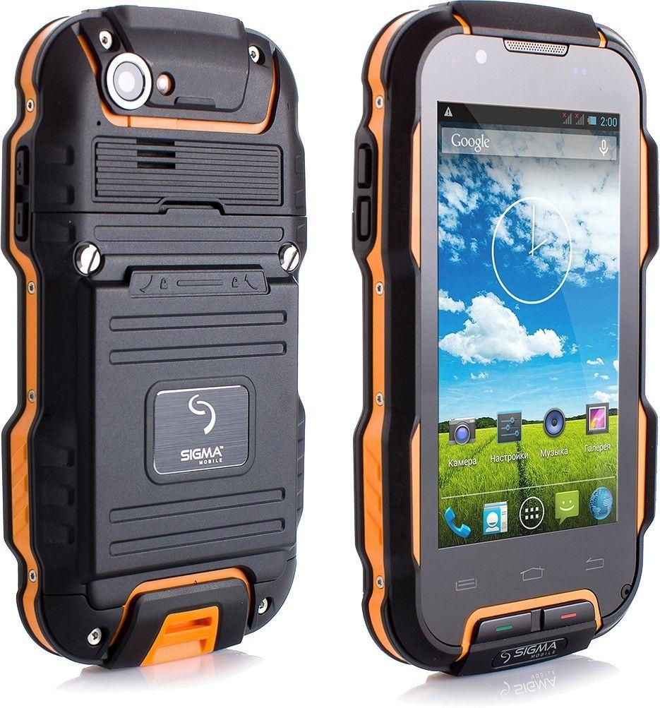 Мобильный телефон Sigma mobile X-treme PQ23 Black/Orange - 2